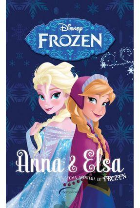 Box - Anna e Elsa - Uma Aventura De Frozen - 4 Volumes - David,Erica Robinson,Bill | Hoshan.org