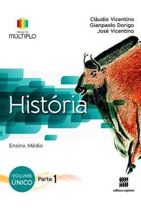 Projeto Multiplo Historia Ensino Medio Vol Unico Saraiva