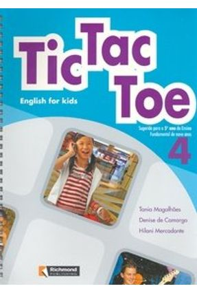 Tic Tac Toe - English For Kids 4 - 5º Ano - Magalhães,Tania | Tagrny.org