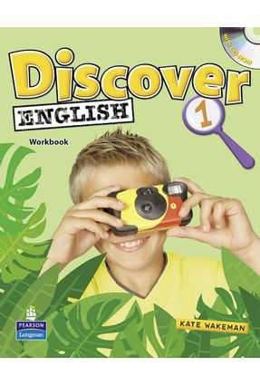 Discover English 1 - Activity Book With Multi-Rom - Wakeman,Kate   Tagrny.org
