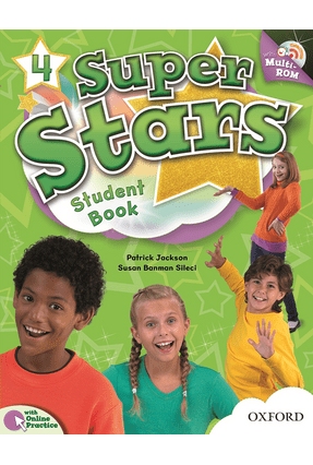 Super Stars 4 - Student´S Book With Multi-Rom - Pack - Editora Oxford | Nisrs.org