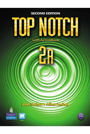 Top Notch 2 a - With Active Book And CD-ROM - Second Edition