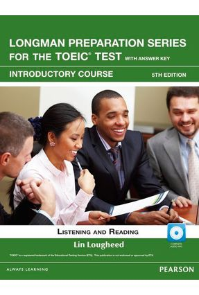 L Preparation Series For The Toeic Intro Intro Bk W/ Cd-Rom  Itest W/ Aud & - Editora Pearson | Nisrs.org