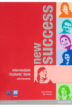 New Success - Intermediate - Student's Book with Active Book + DVD - 2 ed. - Editora Pearson   Hoshan.org