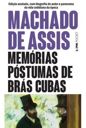 Memorias Postumas de Bras Cubas - Pocket / Bolso - Assis,Machado de | Nisrs.org