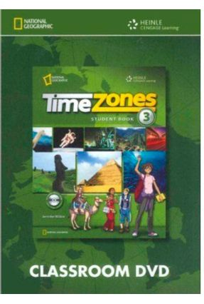Time Zones 3 - Classroom DVD - Maples,Mary Jane Collins,Tim | Hoshan.org
