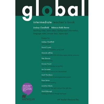 Global Teacher's Book And Ebook Pack-Int
