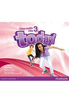 Today! 3 CL Aud Cd Secondary Class Audio Cd 1E - Editora Pearson | Tagrny.org
