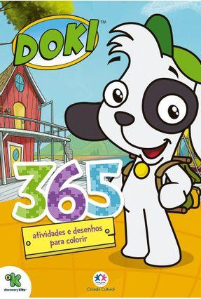 Doki - 365 Atividades E Desenhos Para Colorir - Editora Ciranda Cultural pdf epub