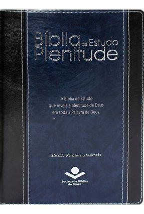 Biblia De Estudo Plenitude Azul Nobre - Sociedade Bíblica do Brasil | Hoshan.org