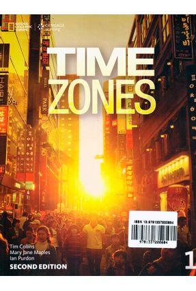 Time Zones 1 - Student Book + Online Workbook + Starter - Second Edition - Ian Purdon Nicholas Beare Tim Collins   Hoshan.org