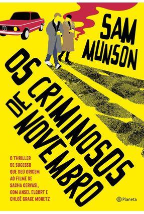 Os Criminosos De Novembro - Munson,Sam pdf epub