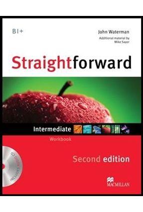 Straightforward Intermediate - Workbook With Audio CD - Without Key - 2 Ed. - Macmillan | Nisrs.org