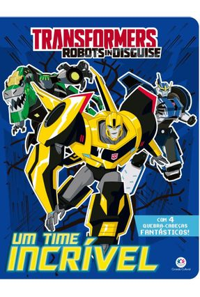 Transformers Robots In Disguise - Um Time Incrível - Ciranda Cultural   Nisrs.org