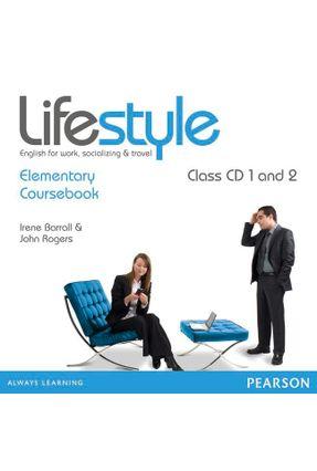 Lifestyle - Elementary Class - Audio CD - Barrall,Irene Rogers,John | Hoshan.org