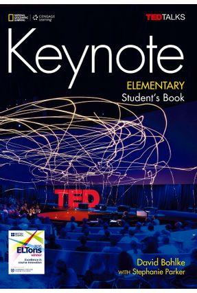 Keynote - BRE - Elementary - Student Book + DVD-ROM - Bohlke,David Parker,Stephanie | Hoshan.org