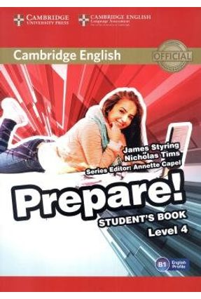 Cambridge English Prepare! - Level 4 - Student'S Book - Styring,James   Nisrs.org