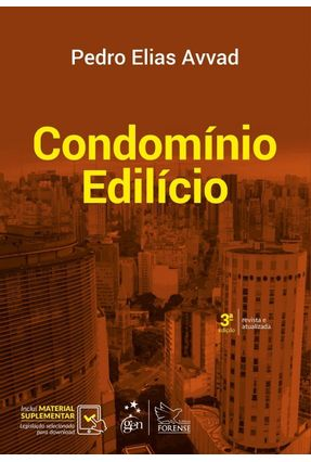 Condomínio Edilício - 3ª Ed. 2017 - Avvad,Pedro Elias | Hoshan.org