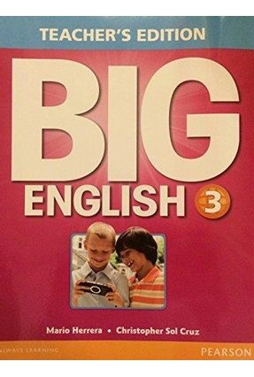 Big English 3 Teacher's Edition - Herrera,Mario Cruz,Christopher Sol | Tagrny.org