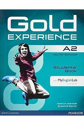 Gold Experience A2 Sb + Dvd-R + Mel - Editora Pearson | Hoshan.org