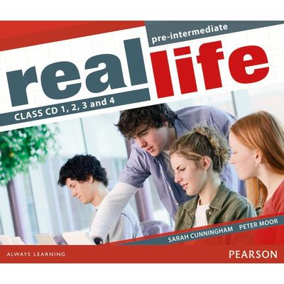 Real Life Pre Inter CL Aud Cd 1-4 1E Pre Inter Class Audio Cd 1-4 1E