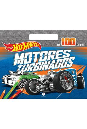 Hot Wheels - Motores Turbinados - Editora Ciranda Cultural   Nisrs.org
