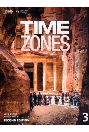 Time Zones 3 - Student Book - Second Edition - Tim Collins Nicholas Beare Ian Purdon   Hoshan.org