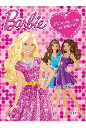 Barbie - Diversão Com Os Amigos - Livro Para Colorir - Editora Todolivro | Hoshan.org