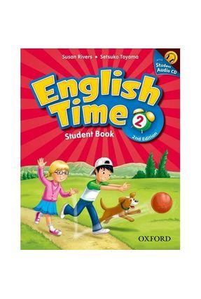 English Time 2 - Student Book And Audio CD - 2nd Edition - Editora Oxford Editora Oxford | Hoshan.org