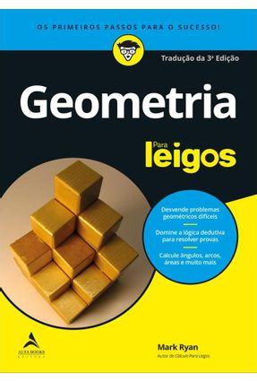 Geometria - Para Leigos - 3ª Ed. 2019 - Ryan,Mark pdf epub