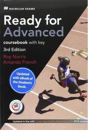 Ready For Adv 3Rd Edition Student's Book W/Ebook Pack-(W/Key) - Norris,Roy | Hoshan.org