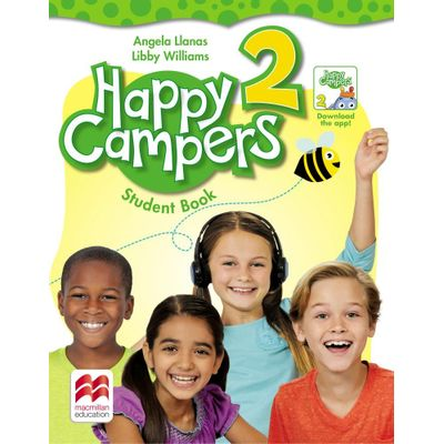 Happy Campers - Student'S Book Pack -With Skills Book - Level 2
