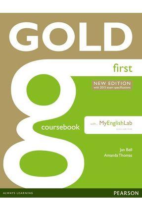 Gold Coursebook First + Mel - Editora Pearson | Hoshan.org