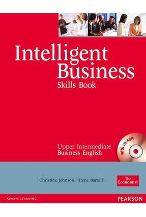 Intelligent Business Challenges - Upper Intermediate Skills with CD-Rom - Johnson,Christine   Hoshan.org