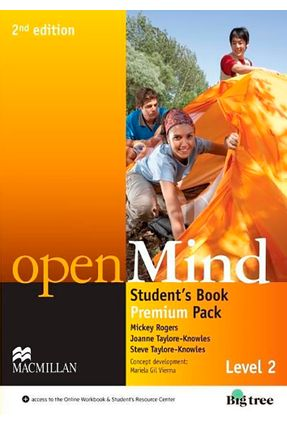 Openmind 2 - Student's Pack With Workbook - 2Nd Edition - Steve Taylore-Knowles Mickey Rogers Joanne Taylore-Knowles   Hoshan.org