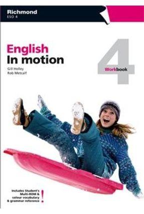 English In Motion 4 - Workbook + Multi-Rom - Campbell,Robert | Hoshan.org