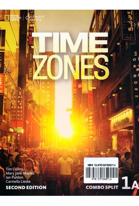 Time Zones 1A - Combo Split + Online Workbook + Starter - Second Edition - Tim Collins Ian Purdon Nicholas Beare | Nisrs.org
