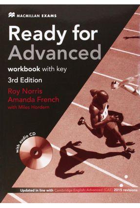 Ready For Advanced - Workbook With Key - Macmillan Exams -3Rd Edition - Editora Macmillan | Nisrs.org