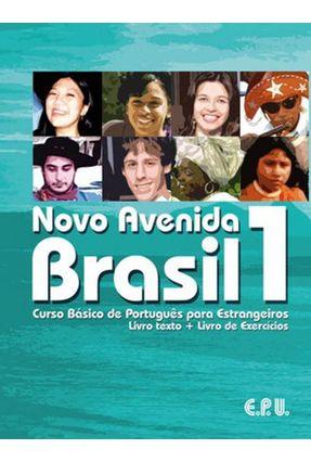 Novo Avenida Brasil - Vol. 1 - Livro Texto + Exercícios - Editora Epu | Hoshan.org