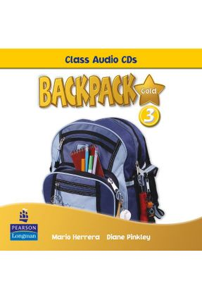 Backpack 3 Gold - Class Audio Cds - Editora Pearson | Tagrny.org
