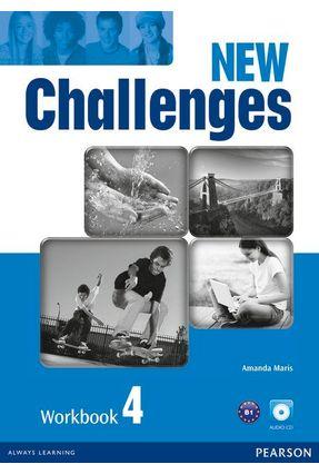 New Challenges - Level 4 - Workbook & Pack CD Rom - Maris,Amanda | Hoshan.org