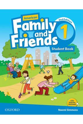 Am Family And Friends - Level 1 - Student's Book - 2ª Edition - Naomi Simmons Tamzin Thompson Jenny Quintana   Hoshan.org