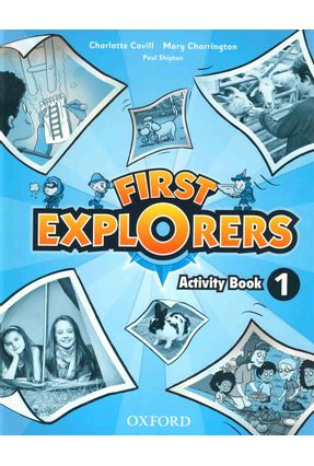 First Explorers - Level 1 - Activity Book - Editora Oxford | Hoshan.org