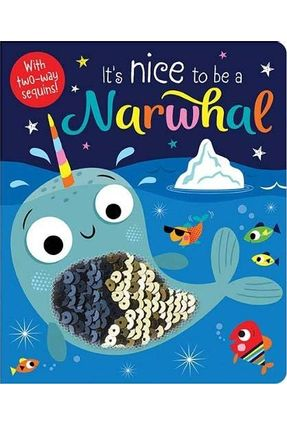 It'S Nice To Be A Narwhal - Two-Way Sequins - Stuart Lynch   Hoshan.org