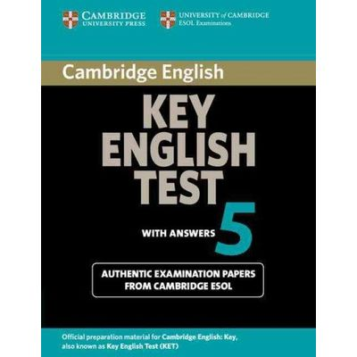 Cambridge Key English Test 5 - Student's Book With Answers