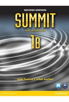 Summit 1B - Student Book & Workbook With Active Book - 2ª Ed. - Saslow,Joan Ascher,Allen pdf epub