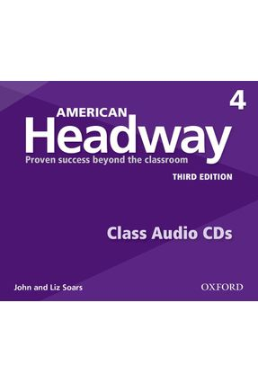 Am Headway - Level 4 - Class Cd - Level 3 - 3ª Edition - John Soars Liz Soars | Hoshan.org