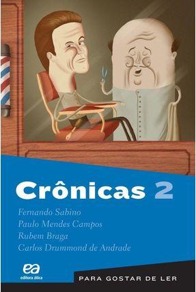 Para Gostar de Ler - Crônica - Vol. 2 - 20ª Ed. 2011 - Andrade,Carlos Drummond de Sabino,Fernando Campos,Paulo Mendes pdf epub