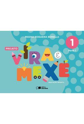 Projeto Vira e Mexe - Integrado - Vol. 1 - Borella,Regina Nogueira | Hoshan.org