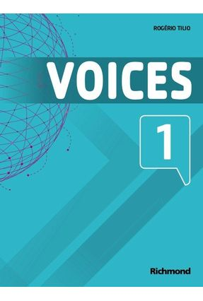 Voices 1 - Livro do Aluno + Multirom - Rogério Tilio | Tagrny.org